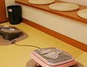 【写真】足つぼマッサージ機 | 湯河原温泉旅館おんやど惠の露天風呂・大浴場
